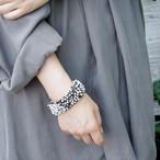 swarosvski rhinestones in resin / Bracelet