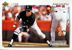 MLBカード 92UPPERDECK Carlton Fisk #571 WHITE SOX