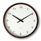 KATOMOKU muku round wall clock km-20B 電波時計
