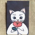 ぽち袋/白猫椿