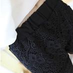 lace girly short pants 1536