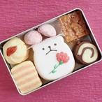 【5/5~9にお届け】母の日クッキー缶(小)