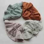 SUMMER & STORM linen sun hat(全4色/2サイズ)
