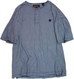 【XL】 95s Timberland 半袖ヘンリーネックカットソー