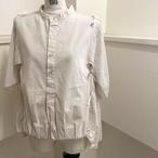 【RehersalL】2way grandpa shirt(off) /【リハーズオール】2wayグランパシャツ(オフ)