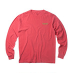 MOANDMO L/S Map Tee / Pink