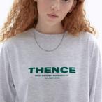 「STD1」ロングTシャツ(グレー)