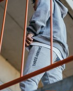 【10/14(wed)21:00販売開始】ThreeArrows LOGO Sweat Pants (grey)