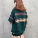 (LOOK) acryl mix knit