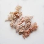 シルクリボン ピーチ系 / Scraps Bundle / Peach