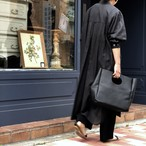 SUMMER COAT DRESS/BLACK