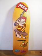 ヴィンテージスケートボードデッキ:Poorhouse Skateboards Deck - Max Evans
