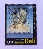 サルバトール・ダリSalvador Dali 2004 Galatea of the Spheres切手[238620313]