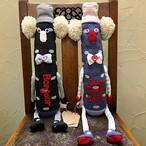 くつ下ポムポムさん GOROHONさんの手作り靴下人形
