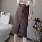 【bototms】主流女の子らしさ落ち着きのある雰囲気スカート 24385026