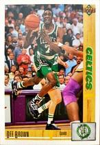 NBAカード 91-92UPPERDECK Dee Brown #143 CELTICS