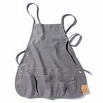 efim ( エフィム ) ワークエプロン 2004003GY アウトドア キャンプ クッキング シンプル カフェ おしゃれ ポケット DIY