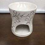 陶器製アロマキャンドルポットC