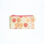 Ashi|亜紙 Flat Pouch M*Dragon Fruit 紙ポーチ フルーツ柄 南国ドラゴンフルーツ ハンドメイド