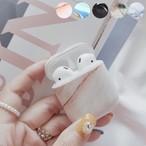 AirPods ケース 韓国 大理石柄 カバー かわいい かっこいい シンプル  大人 可愛い お洒落 イヤホンケース