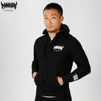 MARRION APPAREL LOGO ZIPPER (Black)