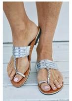 ◆Mon ange Louise◆ SANDAL INDI SLIPPER(silver)