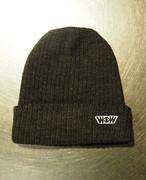 WOWニット帽 ミックスブラック(送料込み)