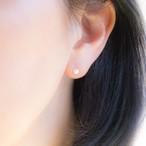 アコヤ真珠*ベビーパールのシンプルひとつぶピアス・14KGF