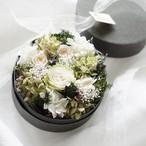【母の日ギフト】数量限定 ナチュラルグリーンflower box  /  母の日 プレゼント プリザーブドフラワー  フラワーボックス カーネーション お花