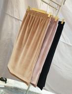 ベルベットミディアムスカート スカート ベルベット 韓国ファッション