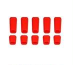 増量特価◆FUTABA&JRその他送信機 スイッチ シリコンカバー セット カラー/ レッド  T8FG 14SG 16SZ 18SZ 18MZ XG8 XG14など