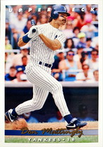 MLBカード 93UPPERDECK Don Mattingly #134 YANKEES