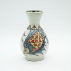 魚紋の花瓶【金城陶器秀陶房】