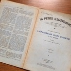 大判!フランスの古い小説 雑誌(ブルー)