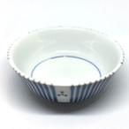 【砥部焼/梅山窯】鍋小鉢(三つ紋)