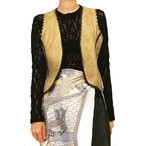 70's Vintage Deerskin Handcrafted Vest