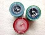 キャンドル/ Marble Colored Candle