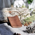 革のPASMO&Suicaホルダー(dark brown)