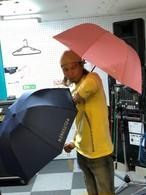 X+晴雨兼用折り畳み傘 10周年記念グッズ♪