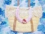 ハワイアンリボンレイ【(レシピなし)ランタンイリマWピカケのバッグチャーム】 キット