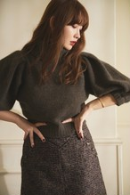 Cashmere Nep Knit Top