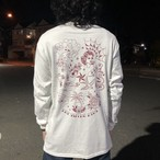 "【受注生産】""TATTOO FLASH"" L/S T-Shirts WHITE"