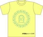 受注生産Tシャツ003 ライトイエロー×ブルー