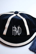 R&D.M.Co-/OLDMAN'S TAILOR club cap pouch Navy 【お問い合わせ商品】