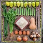 野菜+お米2kgセット 単発便 (月曜金曜発送)※2020年新米発送は10月中旬~下旬より