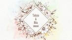 プロフィールムービー「フルール」(シンプルシリーズ)~おしゃれな花柄ムービー~