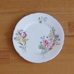 ビンテージ食器 シェリー ワイルドフラワーズ 花柄 デザートプレート ケーキ皿 15cm #200323-1 イギリス製 Wild Flowers SHELLEY BONE CHINA