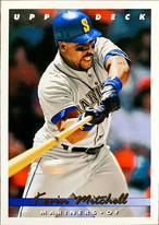 MLBカード 93UPPERDECK Kevin Mitchell #213 MARINERS