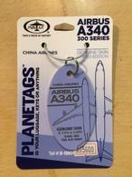 PLANE TAGS/AIRBUS A340-300 中華航空(紫)