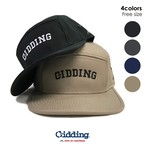 "【★】Gidding13™ : ""G.F.M"" Arch LOGO Cotton Jet CAP / ジェットキャップ"